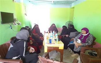 «مياه الشرب» بالبحر الأحمر تنفذ حملات توعية ترفيهية لأهالي قرية النصر | صور