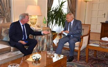 أبو الغيط يستقبل وزير خارجية لوكسمبورج.. ويؤكد ضرورة تفعيل الدور الأوروبي في عملية السلام