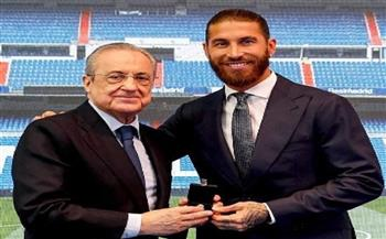 «بيريز» لـ «راموس»: «كنت لاعبًا مرجعيًا لباقي اللاعبين وقائدًا وأسطورة ريال مدريد»