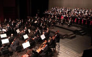 السيمفوني يعزف مختارات موسيقية من الأوبرات العالمية بمسرح النافورة