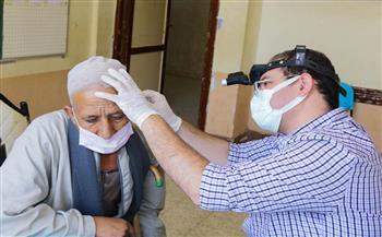 الكشف الطبي على 1251 مواطنًا بقرية «العتوة القبلية» في قافلة من جامعة طنطا | صور