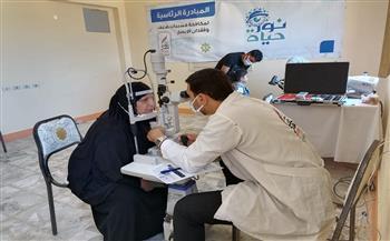 الكشف على 304 مواطنين خلال قافلة طبية بقرية الحمراوين في القصير