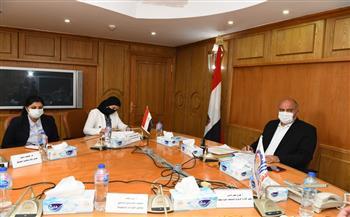 أهم قرارات اجتماع مجلس إدارة المناطق الصناعية بقنا  صور