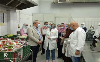 وكيل وزارة الصحة بالدقهلية يتفقد تفعيل برنامج الزمالة المصرية |صور