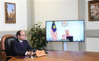 رئيس وزراء ماليزيا يؤكد تطلع بلاده إلى تطوير علاقات التعاون الثنائي مع مصر