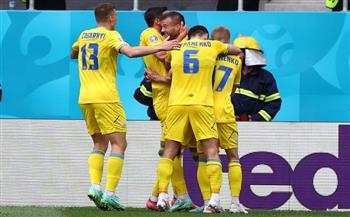 أوكرانيا تفوز على مقدونيا الشمالية في «يورو 2020»   صور