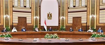 الرئيس السيسي يستقبل وزراء ومسئولي الإعلام العرب |صور