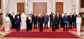 الرئيس السيسي: مصر اتخذت قرارًا إستراتيجيًا للعمل بمسارين لمكافحة الإرهاب والبناء والتعمير