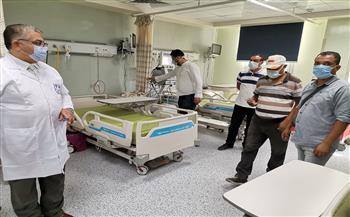 انتظام العمل بمستشفى بدر الجامعي وتقديم الخدمات الطبية بالعيادات الخارجية.. السبت|صور