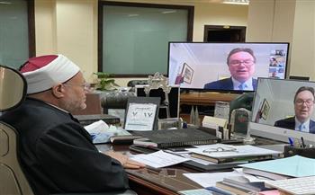 مفتي الجمهورية أمام اللوردات البريطاني: الإسلام يرفض التطرف.. والجهاد الحقيقي يتم تحت راية الدولة