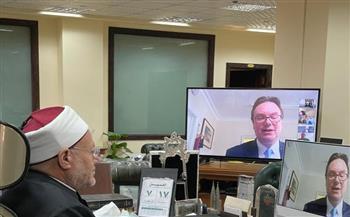 المفتي: مصر خطت خطوات واسعة في محاصرة الفكر التكفيري وحذرت العالم من هذا الوباء مرارًا