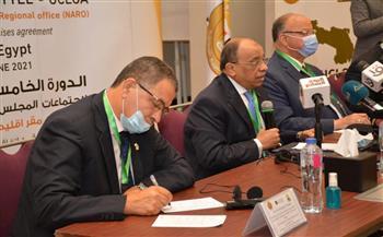محافظ القاهرة يدعو لعقد مؤتمر مشترك لتبادل الخبرات بين المدن الإفريقية