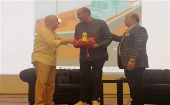 أحمد بدير: سعيد بتكريمي في مهرجان الإسماعيلية السينمائي |صور