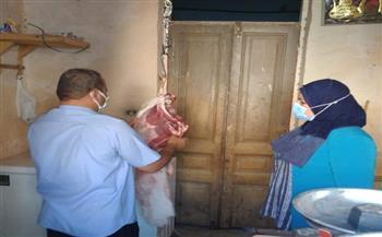 حملة مكبرة للرقابة على الأسواق والسلع الغذائية بطهطا | صور