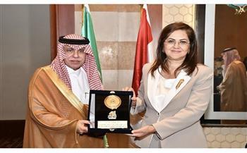 وزيرة التخطيط : ناقشنا الفرص الإستثمارية مع وزير التجارة السعودي ووفد رجال الأعمال المرافق