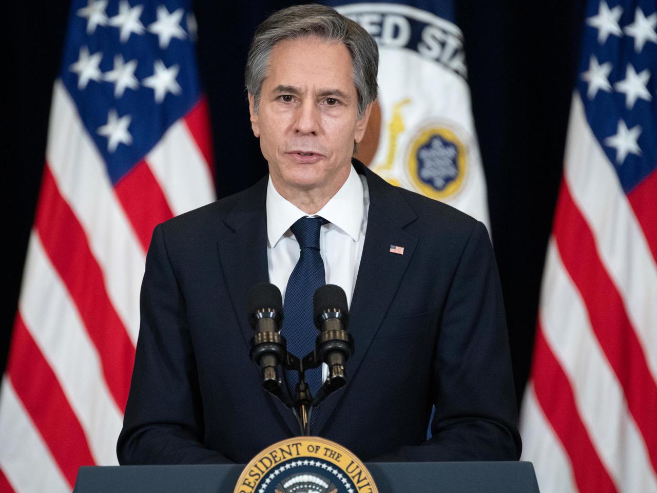 بلينكن واشنطن على وشك التخلي عن الاتفاق حول النووي الإيراني