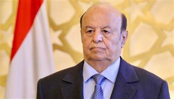الرئيس اليمني يؤكد أهمية توحيد الجهود لتخفيف معاناة الشعب من تداعيات الحرب
