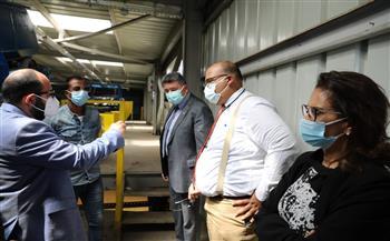 البيئة تسلم مستلزمات وأدوات طبية إلى مستشفى المنشاوي والمحلة العام بالغربية