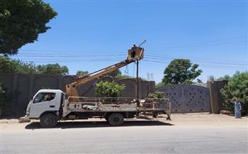 رفع 30 حالة إشغال طريق وإزالة حالة تعدِ على أرض زراعية بالفيوم | صور