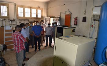 تطوير وحدة الغسيل الكلوي ومحطة الغازات الطبية بمستشفى سوهاج الجامعي بتكلفة 23 مليون جنيه |صور