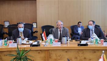"""رئيس """"ايتيدا"""" يستقبل وزير الاتصالات العراقي لبحث التعاون الثنائي وتبادل الخبرات"""