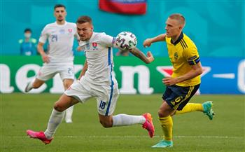 السويد تسجل الهدف الأول في شباك سلوفاكيا من ركلة جزاء بـ «يورو 2020»