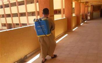«الأقصر الأزهرية»: تنفذ عمليات تطهير وتعقيم للجان امتحانات الشهادة الثانوية|صور