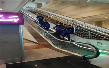 بيراميدز يستقبل بعثة الرجاء في مطار القاهرة