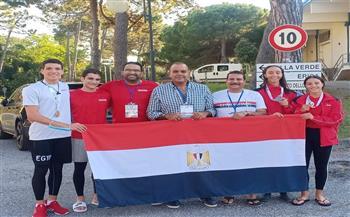 مصر تحصد ذهبية و3 فضيات وبرونزية في بطولة العالم للسباحة بالزعانف للناشئين في إيطاليا