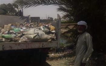 رفع 50 طن قمامة من قرى مركز المنشأة | صور