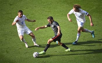 كرواتيا تتعادل أمام التشيك في «يورو 2020»