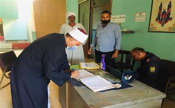 رئيس منطقة البحر الأحمر الأزهرية يتابع جاهزية لجان سفاجا ورأس غارب لامتحانات الثانوية  صور