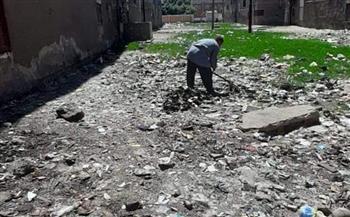 حملة نظافة لرفع كفاءة حي «حسام كيلاني» في ديروط.. ومتابعة مشروعات المياه في «صنبو»   صور