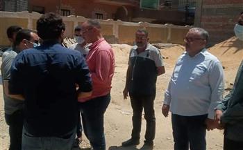 وفد «لجنة الوزراء» تتفقد مشروعات تطوير الريف المصري و«حياة كريمة» بقرى ديروط | صور