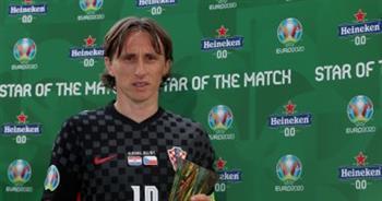 «مودريتش» يحصد جائزة أفضل لاعب فى مباراة كرواتيا والتشيك