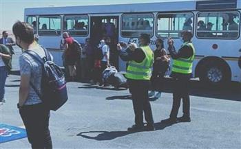 وصول أولى الرحلات المباشرة من كازاخستان لمرسى مطروح