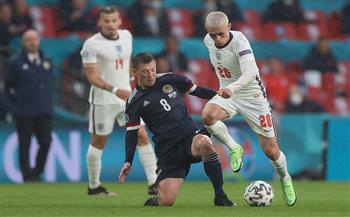 التعادل السلبي يحسم نتيجة الشوط الأول بين إنجلترا وأسكتلندا