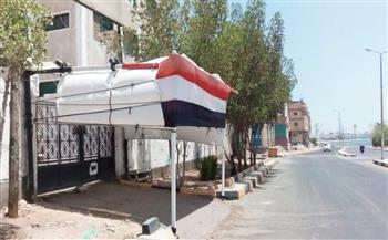 تعقيم وتطهير 139 لجنة في كفرالشيخ لاستقبال طلاب الدبلومات الفنية