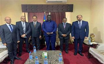إطلاق مشروع مصري لمكافحة الملاريا بجنوب السودان صور