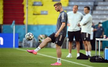 مهاجم ألمانيا تيمو فيرنر يعرب عن تفاؤله قبل مباراة البرتغال