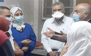 وكيل صحة الغربية يوجه بتجديد سكن أطباء مستشفى قطور