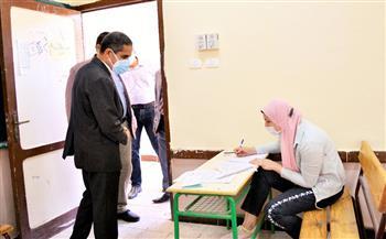 محافظ الغربية يتفقد عددا من لجان امتحانات الدبلومات الفنية بطنطا| صور