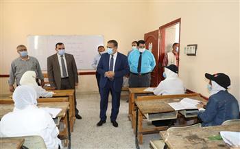 محافظ المنوفية يتفقد لجان امتحانات الدبلومات الفنية|صور