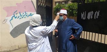 رئيس منطقة المنوفية الأزهرية يتفقد لجان امتحانات الشهادة الثانوية| صور