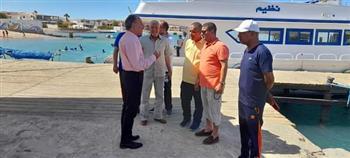 وكيل وزارة الشباب بالبحر الأحمر يتفقد نادي الرياضات البحرية بالغردقة   صور