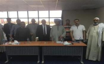 انتهاء انتخابات شعبة المخابز البلدية والإفرنجية بغرفة سوهاج التجارية