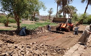 إزالة حالتي تعدٍ بمدينة الزينية في الأقصر | صور