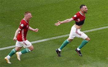 الشوط الأول.. منتخب المجر يتقدم أمام فرنسا بهدف نظيف في «يورو 2020»