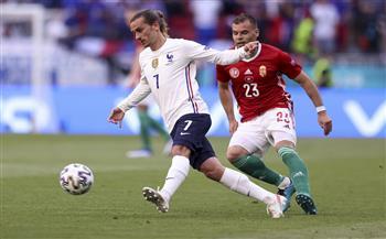 «جريزمان» يتعادل لفرنسا بهدف في شباك المجر بـ «يورو 2020»