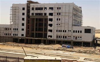 مدير المستشفيات الجامعية بأسوان: تنفيذ 95% من مشروع إنشاء مستشفى الباطنة